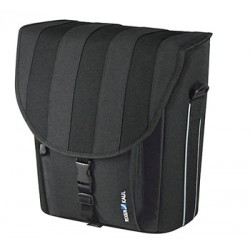 KLICKfix Cita PLUS sidetaske 20L (sort-stribet)