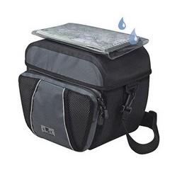 KLICKfix Ultima taske til styret 6L (sort/grå)