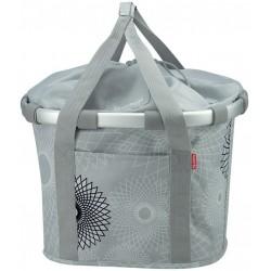 KLICKfix Bike Basket til styret 15L (sølv)