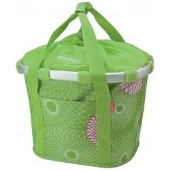KLICKfix Bike Basket til styret 15L (grøn)